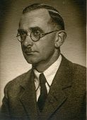 GERMANY, CIRCA FORTIES - Vintage portrait of man