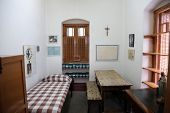 KOLKATA,INDIA - FEBRUARY 07: The former room of Mother Teresa at Mother House in Kolkata, West Benga