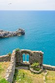 View of the church in Portovenere, Italy