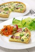 quiche, French cuisine