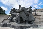 Soviet Era World War Ii Memorial In Kiev Ukraine