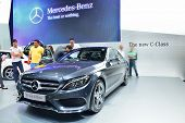 Nonthaburi - December 1: New Mercedes Benz C-class Car Display At Thailand International Motor Expo