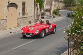 Ferrari 750 Monza Spider Scaglietti (1955) In Mille Miglia 2014
