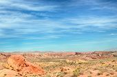 """picture of valley fire  - """"The Guardian"""", Rainbow Vista, Valley of Fire State Park, near Las Vegas, Nevada. - JPG"""