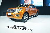 Nonthaburi - December 1: New Nissan Navara Np 300 Car Display At Thailand International Motor Expo O