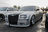 Custom Chrysler 300C On Display