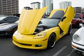 Chevrolet Corvette C6 Z06 On Display