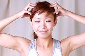 self head massage