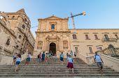 Monastero Benedettino Del Ss Salvatore In Noto, Sicily, Italy