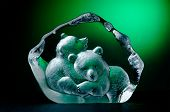 Crystal relief two bears