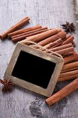 Blackboard And Spices