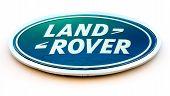 Land Rover Dealership Sign