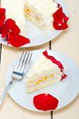 Whipped Cream Mango Cake