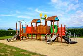 Playground With Blue Sky
