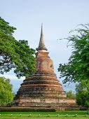 Pagoda Architecture Of Northern Thailand