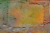 grunge brick wall texture.