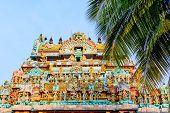 stock photo of trichy  - jambukeswarar temple in tiruchirapalli  - JPG