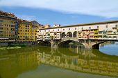 Florence river bank