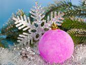 fluffy New Year balls