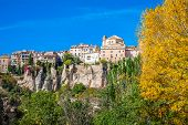 Houses Hung In Cuenca, Spain