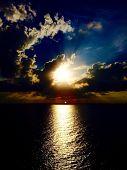 Sunset burst