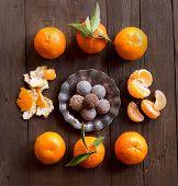 Chocolate Truffles And Tangerines