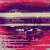 Designed background in grunge style. With different color patterns: gray; blue; purple (violet); red