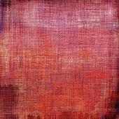 Grunge texture, Vintage background. With different color patterns: purple (violet); red; orange; brown