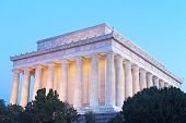 Lincoln Memorial in Washington DC USA.