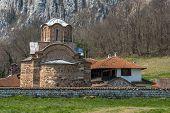 pic of serbia  - Panorama of medieval Poganovo Monastery of St - JPG
