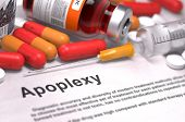 stock photo of medical injection  - Apoplexy - JPG