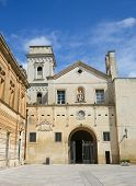 ������, ������: Church Of Saint John The Evangelist In The Center Of Lecce Puglia Italy