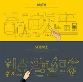 pic of science  - math and science education concept for web and print - JPG