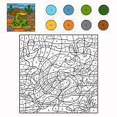 picture of anaconda  - Game for children - JPG