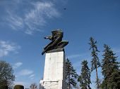 image of gratitude  - The Gratitude to France monument in Serbia Belgrade - JPG