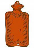 stock photo of hottie  - Red Rubber Hotty - JPG