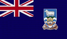 image of falklands  - Flags of Falkland Islands with abstract textures - JPG