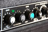 Guitar Amp - narrow depth of field
