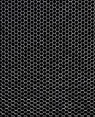 Hexagonal metallic structure - Honeycomb concept