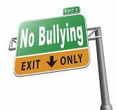 No Bullying poster