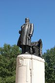 Benjamin Harrison In The Park