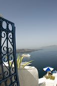 View Of Cruise Ship Harbor Greek Islands