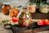 Fermented Preserved  Food poster