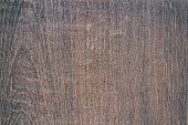 Vintage Surface Wood Table And Rustic Grain Texture Background. Close Up Of Dark Rustic Wall Made Of poster
