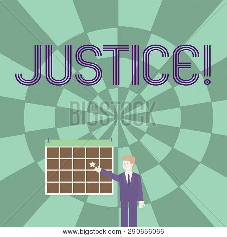 Word Writing Text Justice Business
