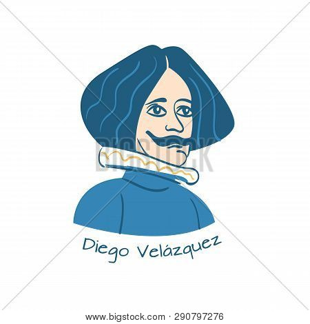 Vector Illustration Of Spanish Painter