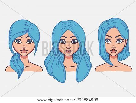 Types Of Female Hairstyles