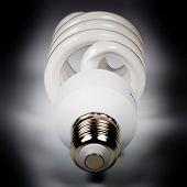 Spiral power saving up lamp