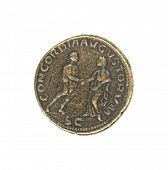 Roman antique coin
