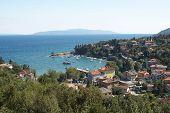 Opatija bay in Croatia